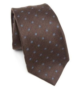 Kiton | Dotted Texture Tie