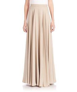 Ralph Lauren Collection | Darlene Silk Maxi Skirt