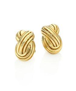 Vaubel | Small Lined Knot Earrings