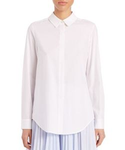 Tome | Pleated-Back Blouse
