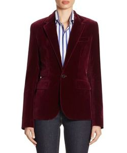 Ralph Lauren Collection | Cotton Velvet Jacket