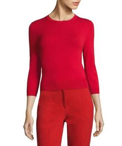 Michael Kors Collection | Three Quarter Sleeve Pullover
