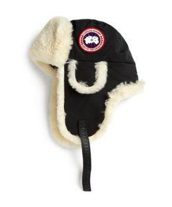 Canada Goose | Arctic Tech Shearling Pilot Hat