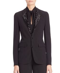 Ralph Lauren Collection | Yvette Embellished Blazer