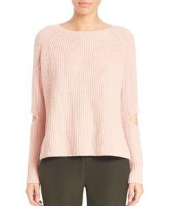 Zoe Jordan | Turing Wool Cashmere Cutout Sweater