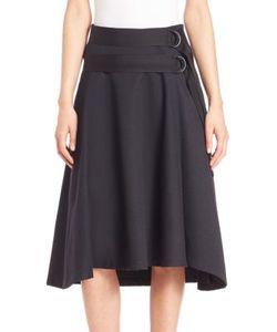 Zoe Jordan | Sabi A-Line Wool Skirt