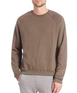 John Elliott   Raw Edge Raglan French Terry Sweater