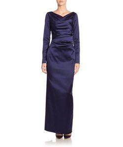 Talbot Runhof | Stretch Satin Duchesse Gown