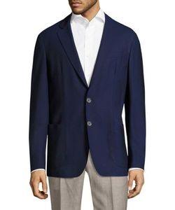 Corneliani   Button-Front Wool Jacket