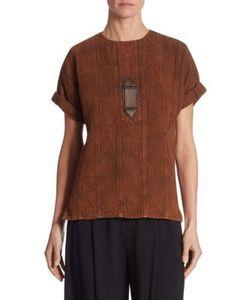 Ralph Lauren Collection | Sahara Linen Top