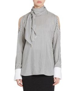Brunello Cucinelli | Striped Silk Blouse