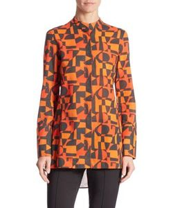 Akris | Iberia No. 25 Printed Cotton Blouse