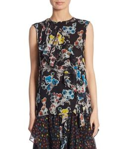 Jason Wu | Silk Chiffon Top