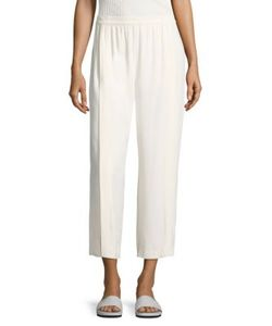 Helmut Lang   Pleated Crepe Culottes