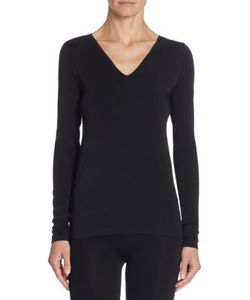 Wolford | Slim-Fit V-Neck Tee