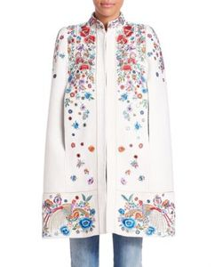 Roberto Cavalli | Cotton Embroide Cape
