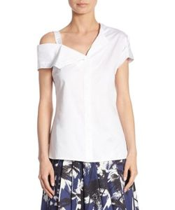 Jason Wu | One-Shoulder Cotton Top