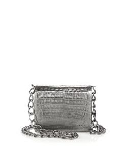 Nancy Gonzalez | Small Crocodile Crossbody Bag