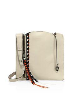 Elena Ghisellini | Estia Small Leather Hobo Bag