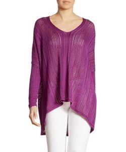 Ralph Lauren Collection | Silk Poncho Top