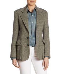 Ralph Lauren Collection | Preston Herringone Wool Nylon Jacket