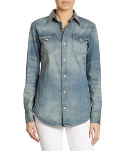 Ralph Lauren Collection | Icon Denim Western Shirt
