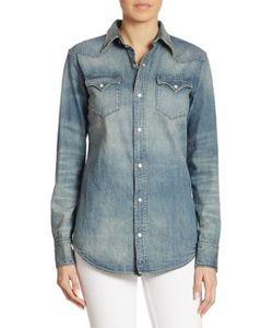 Ralph Lauren Collection | Icon Denim Western Shirt