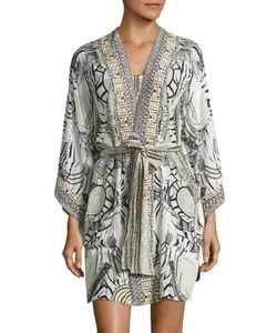 Camilla | Chinese Whispers Silk Kimono