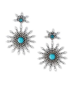 Dannijo | Delano Crystal Drop Earrings
