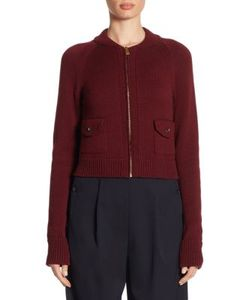 Ralph Lauren Collection | Wool Zip-Front Jacket
