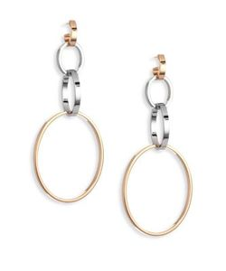 Vita Fede | Cassio Tri-Tone Hoop Earrings