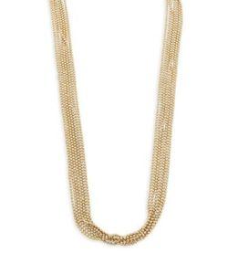 Eddie Borgo   Ball Chain Fountain Necklace