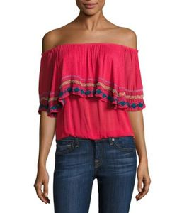 Piper | Byron Off-The-Shoulder Top