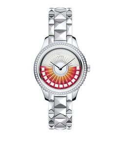 Dior | Viii Grand Bal Limited-Edition Diamond Stainless Steel Bracelet Watch