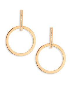 Vita Fede | Antonia Crystal Hoop Earrings/1.5