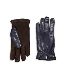Brunello Cucinelli   Lambskin Leather Suede Gloves