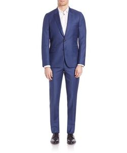 Paul Smith | Tailored-Fit Two-Buttoned Suit