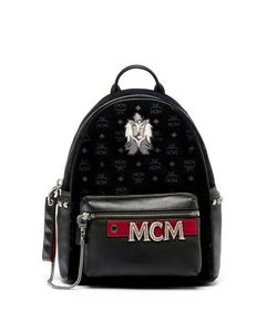MCM | Stark Embroidered Backpack
