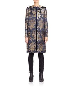 Ralph Lauren Collection | Cora Silk Brocade Coat