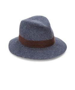 Lola Hats | Shadow Felted Wool Rabbit Fur Fedora