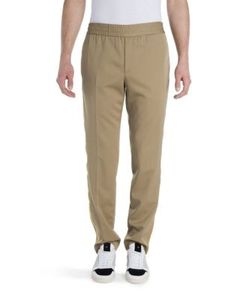 Palm Angels | Virgin Wool Trimmed Trousers