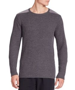 Ovadia & Sons | Cable Knit Wool Sweater