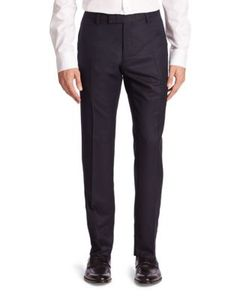 Salvatore Ferragamo | Straight Wool Pants