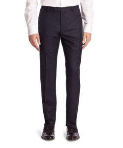 Salvatore Ferragamo   Straight Wool Pants
