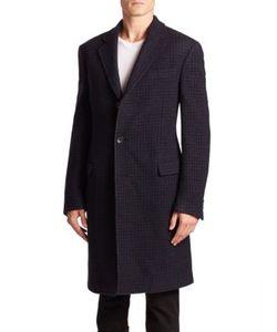 Salvatore Ferragamo | Long Sleeve Wool Coat