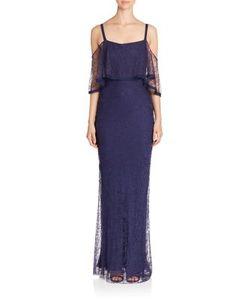 Jason Wu   Cold-Shoulder Lace Gown