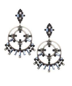 Dannijo | Solaris Crystal Earrings