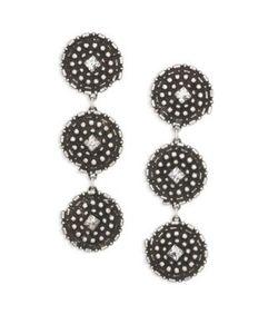 Dannijo | Rossi Crystal Drop Earrings