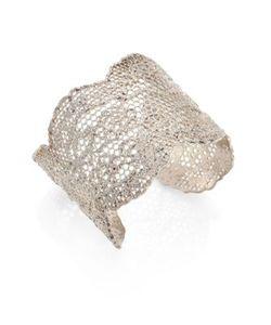 Aurelie Bidermann | Vintage Lace Cuff Bracelet