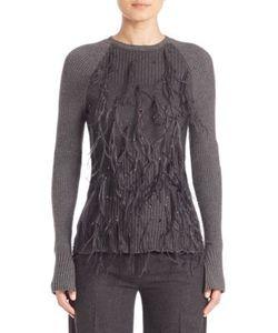 Jason Wu | Wool Blend Frilled Pullover